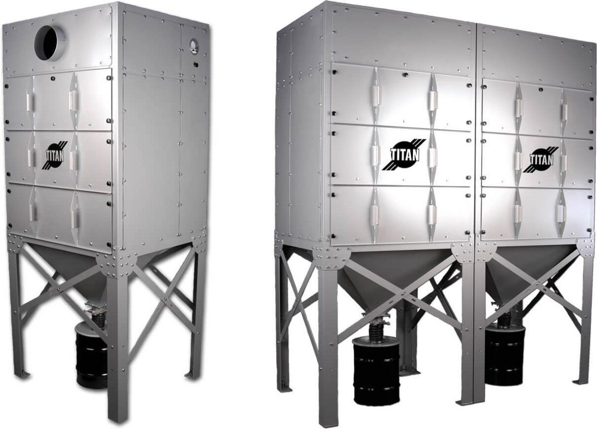 Titan Modular Dust Collectors – Easy to Operate and Maintain