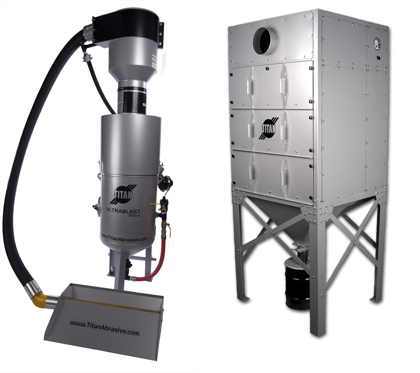 Vacuum Media Reclaim Systems Blasting Equipment Made