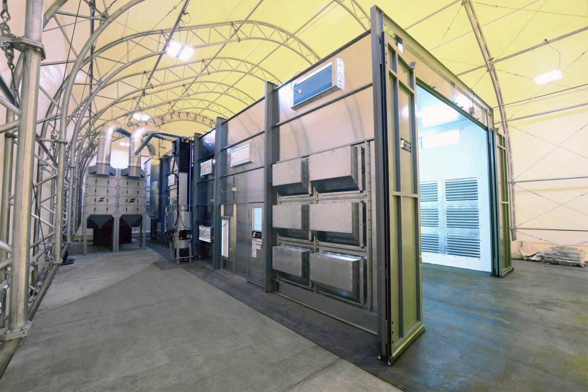 Titan Abrasive Industrial Blast Room