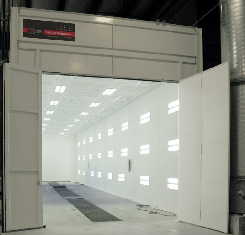 GFS Large Equipment Downdraft Paint Booth